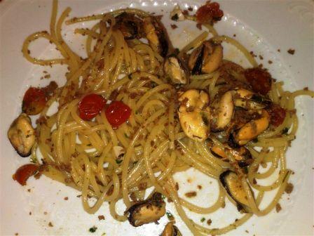 Spaghetti bottarga e cozze 2