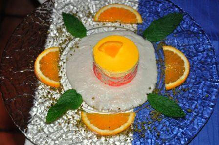 Mousse d'arancia