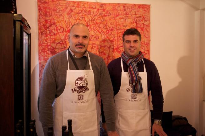 Luca e Fabio del Birrificio Rocca dei Conti